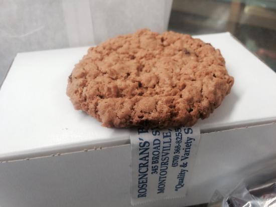 Montoursville, PA: The World Famous Oatmeal Raisin Cookie.