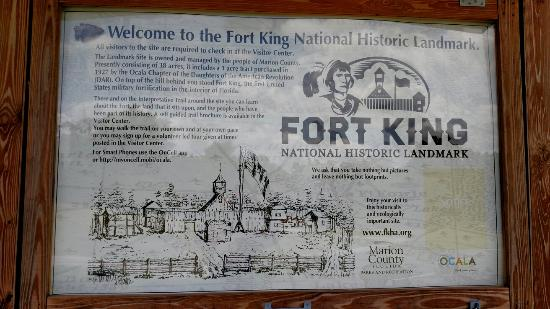 ‪Fort King Site‬