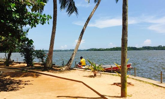Balapitiya, Sri Lanka: View of the Lake