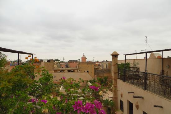 Riad Aladdin: Dachterrasse