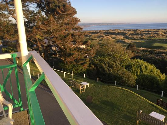 Trefeddian Hotel: What a view