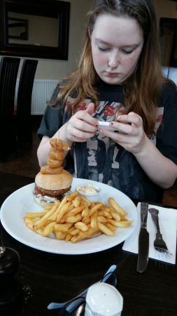 Glencarse, UK: Fantastic food