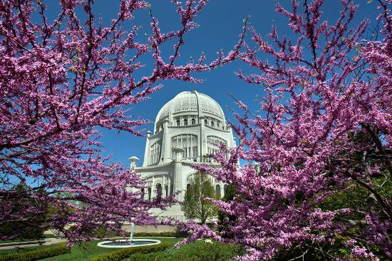 Chicago's North Shore, IL: Bahá'í House of Worship