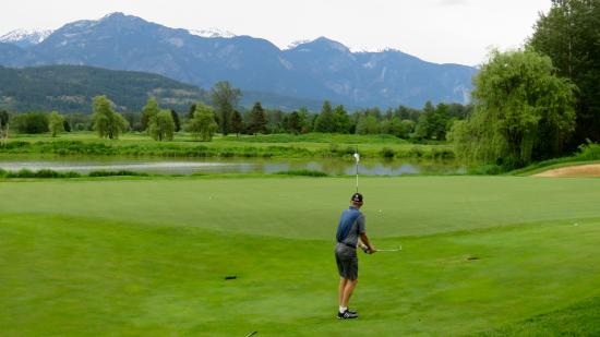Big Sky Golf Club : Some of the great conditions at Big Sky
