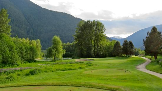 Big Sky Golf Club: Big Sky Golf bent grass tees/fairways/ and greens.