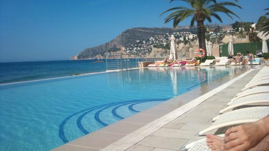 piscina picture of gran hotel sol y mar calpe tripadvisor On piscinas calpe