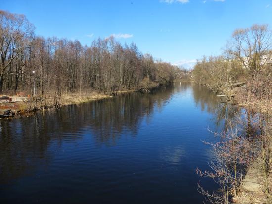 Melenki, รัสเซีย: река унжа
