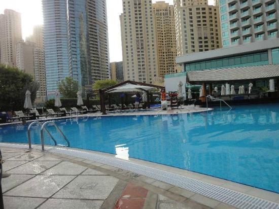 D Exhibition Jbr : Pool at am picture of hilton dubai the walk