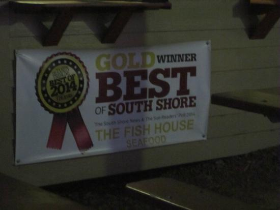 The Fish House: Gold winner