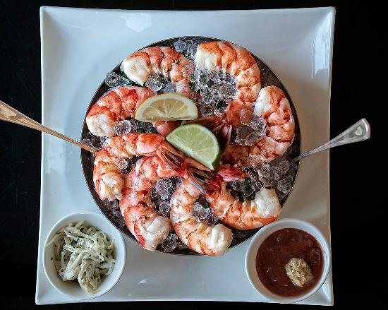 Colossal shrimp appetizer - Picture of Bristol Restaurant