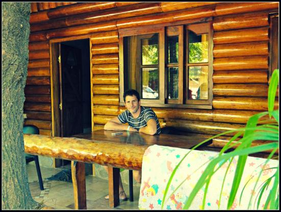 Los Platanos, Cabanas y Suites: Hermoso lugar para desayunar y descansar.