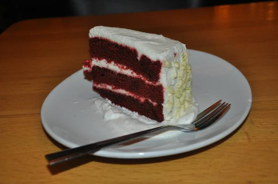 Red Velvet Cake - Picture of California Pizza Kitchen, Palo Alto ...