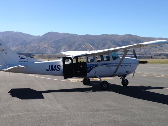 Southern Alps Air - Scenic Flights : The plane!