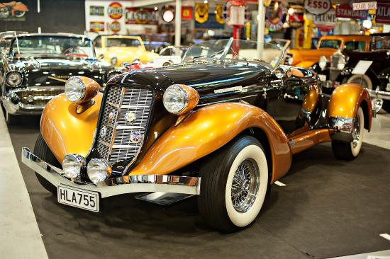 Hamilton, New Zealand: 1936 Auburn Speedster