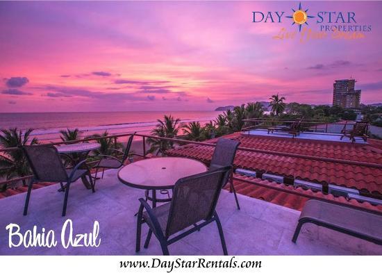 Daystar Bahia Azul: Sunset time