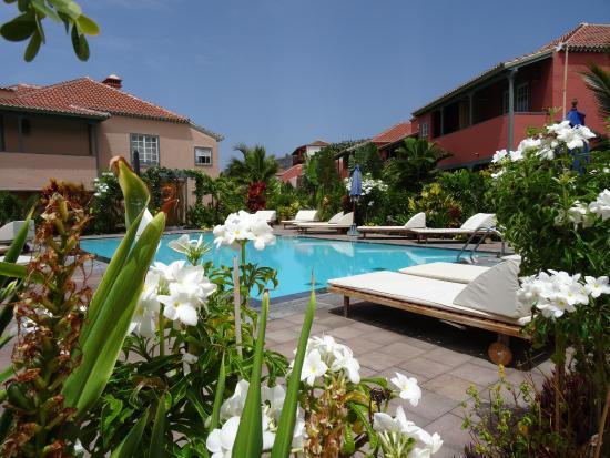 Tazacorte, สเปน: Piscina Hotel Hacienda de Abajo