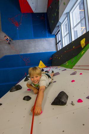 Spire Climbing Center: Kids love Spire!