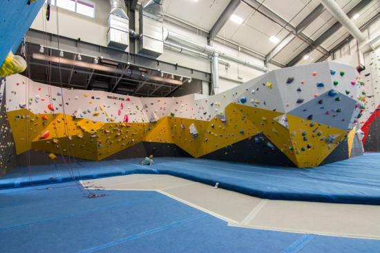 Spire Climbing Center: South gym bouldering gym