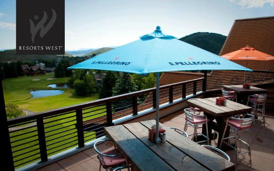 Silver Star at Park City: Silver Star Cafe has a delicious menu and a fun outdoor patio to enjoy the scenery!