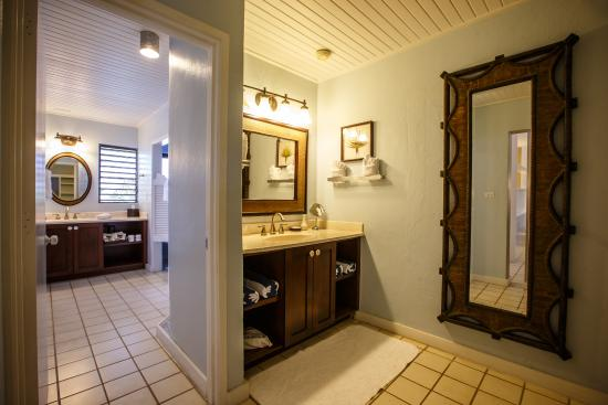 The Meridian Club Turks & Caicos: Bathrooms are well equipped