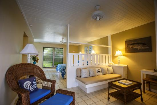 The Meridian Club Turks & Caicos: Bedrooms have sleeping, sitting and outdoor living