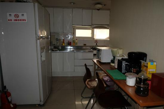 Hwaseong Guest House : area dapur