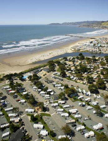 Aerial View Of Pismo Coast Village Rv Resort Picture Of
