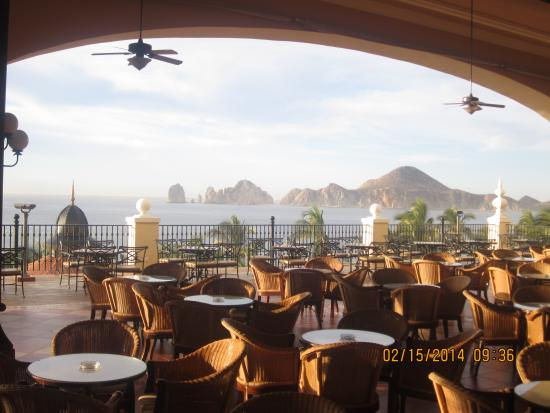 Hotel Riu Palace Cabo San Lucas View From The Lobby Bar