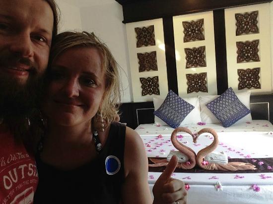 Phi Phi Andaman Legacy: room for honeymooners ready:)