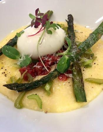Inn on Randolph: Gluten Free Spring Vegetable Polenta