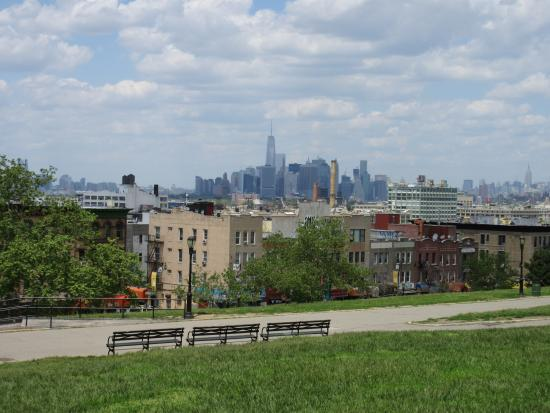 great view of the city from sunset park  picture of new york fun tours  new york city sunset park new york campgrounds sunset park new york new york