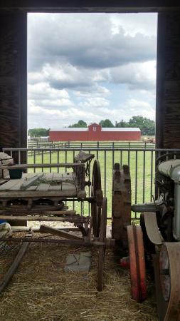 Frying Pan Farm Park: Old farm implements