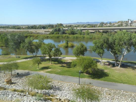 Hilton Garden Inn Yuma Pivot Point: View Out The Window Good Looking