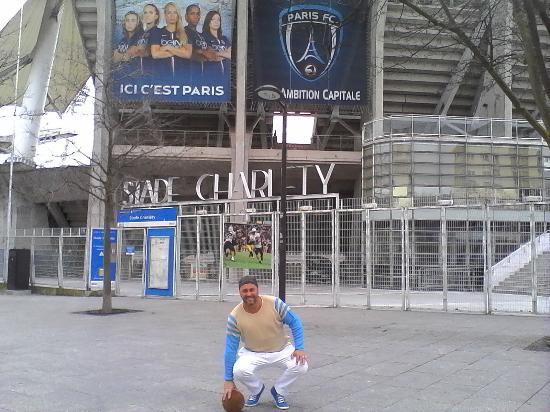 Παρίσι, Γαλλία: Frente del estadio
