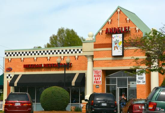 Andele Mexican Restaurant Concord Menu Prices Reviews Tripadvisor