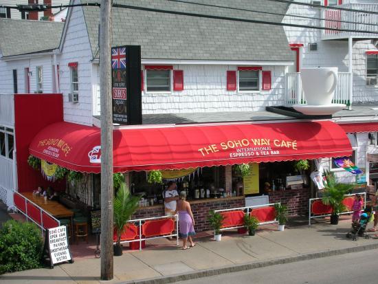 The New Oceanic Inn Soho Way Cafe Old Orchard Beach Maine