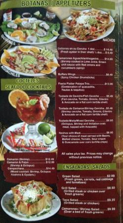 Palapa Mexican Restaurant Hours