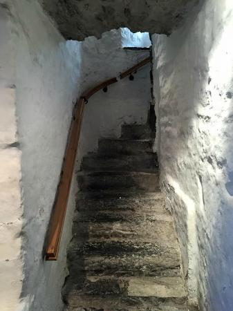 Donegal Town, Irlanda: one of the stairways
