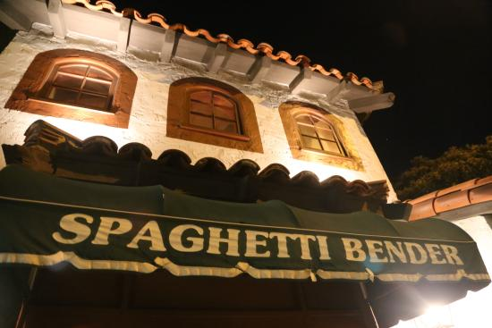 Spaghetti Bender. Newport Beach, California