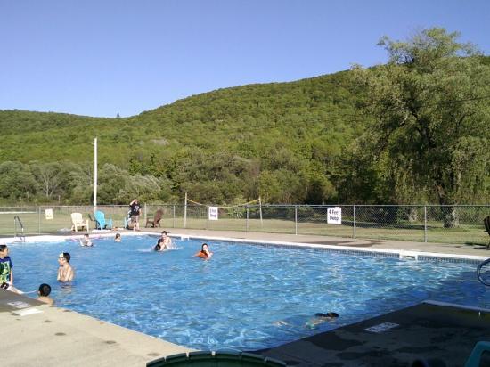 pool at Ferenbaugh Campsites, Corning NY
