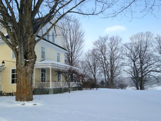 Omena, MI: winter view