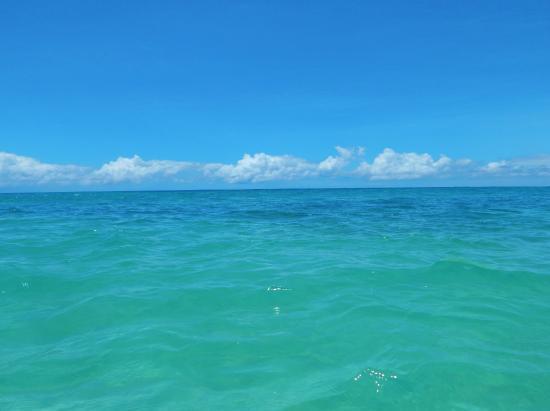 Sunset Beach Park: Crystal clear water