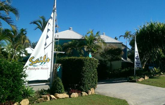 Sails Lifestyle Resort: Resort frontage
