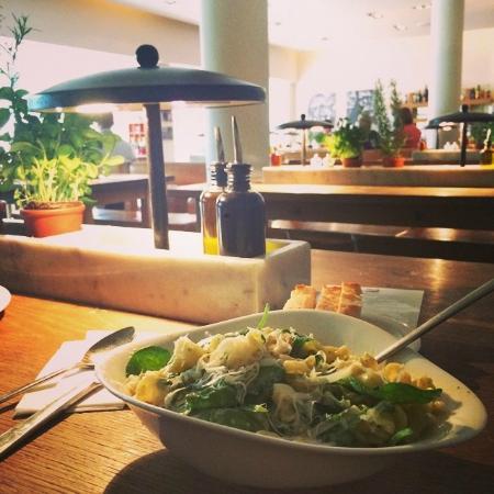 vapiano: Scampi e spinaci!