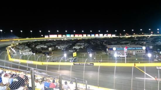 Brad k 39 s late pit stop picture of charlotte motor for Nascar ride along charlotte motor speedway