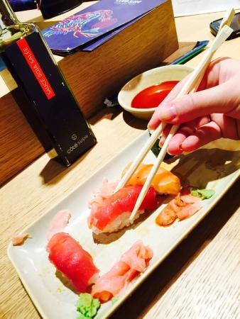 Côté Sushi Marceau : Rolls Samba/gyoza/ salmonrolls/sushi