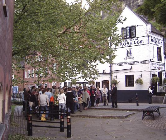 The Original Nottingham Ghost Walk