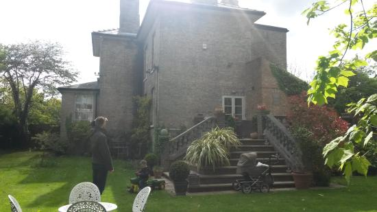 The Old Rectory: in the garden