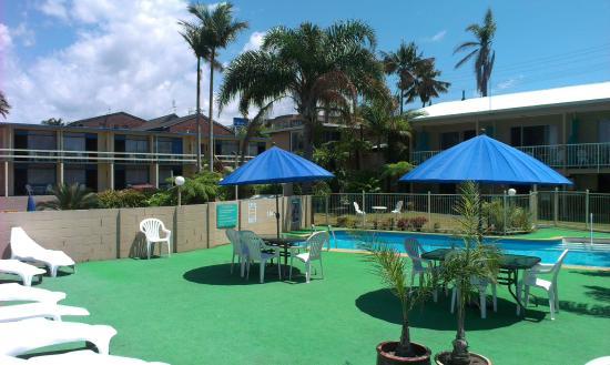 South Seas Motel: Pool & Sun Deck