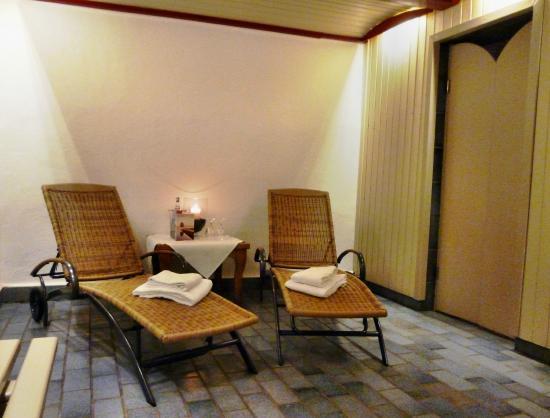 Romantik Hotel Fuerstenhof: Sauna